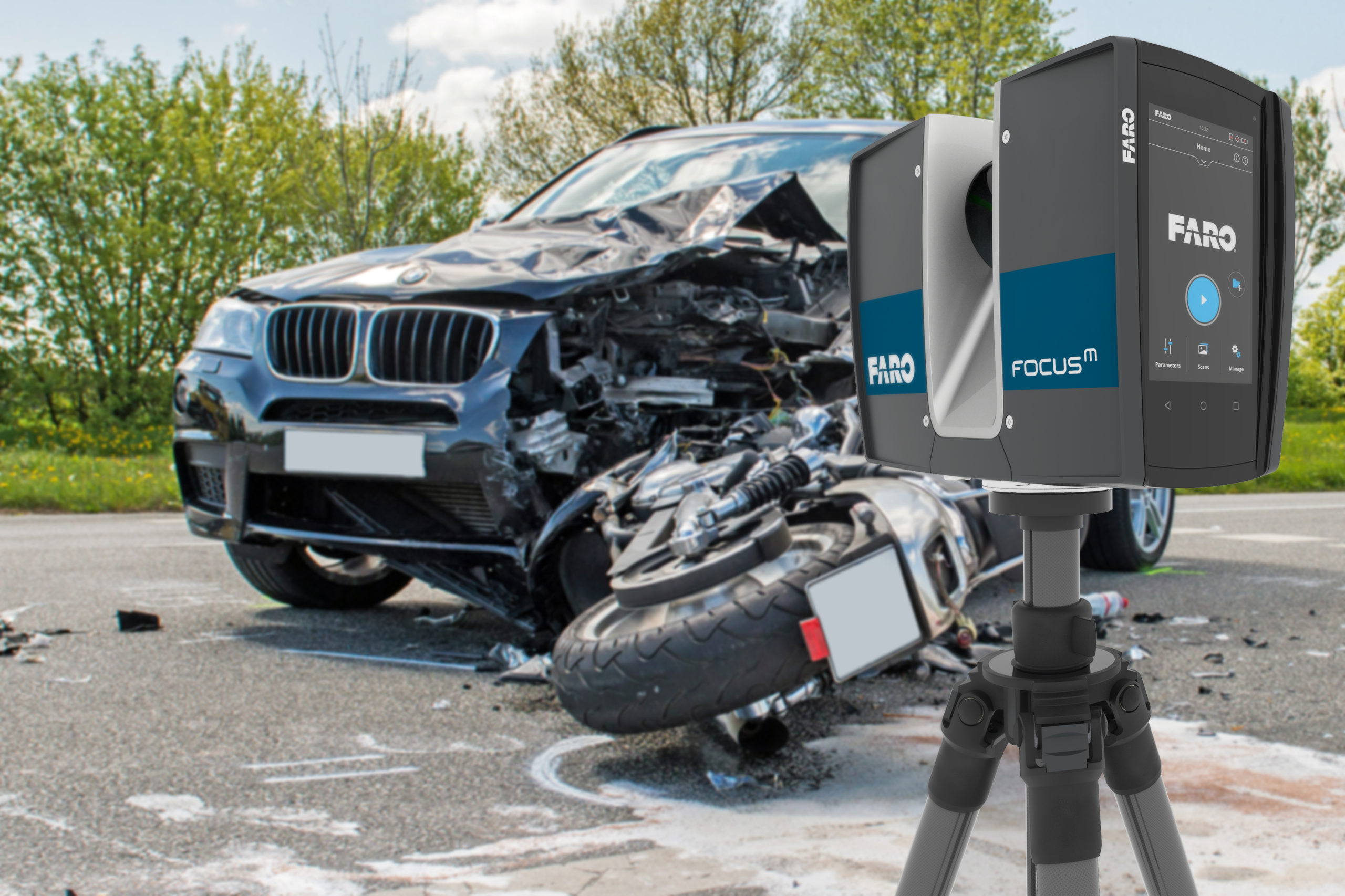 3D сканер FARO Laser Scanner Focus M 70 - picture 1