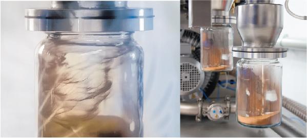 Воздушный классификатор AC 1000 / AC 1000 G для сепарации металлических порошков